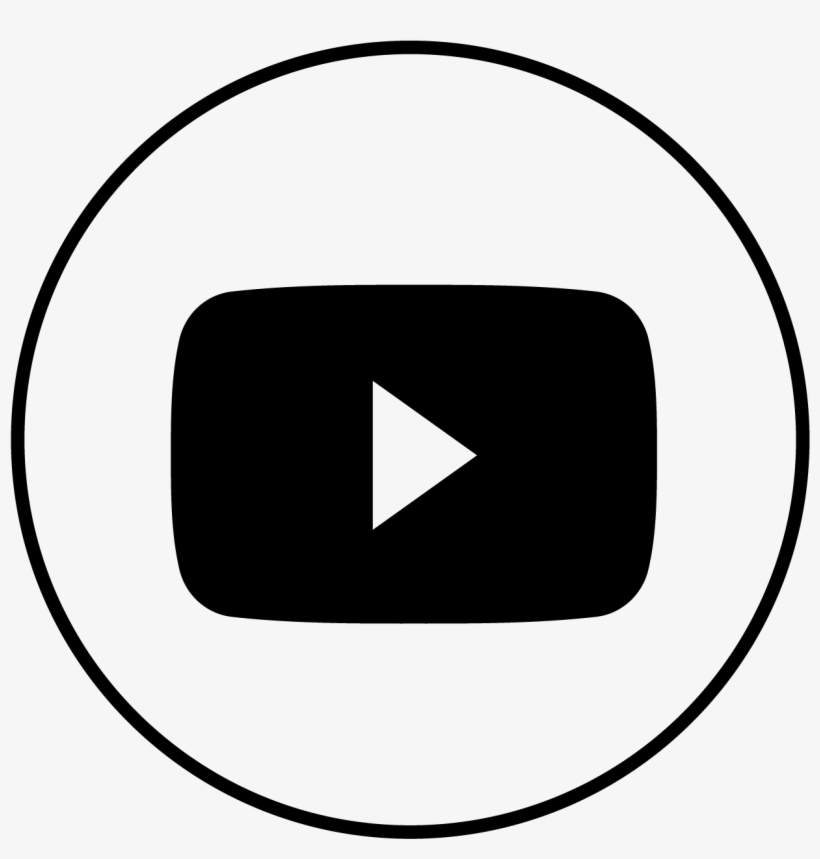 Youtube Icon Youtube Icon Logo White Transparent Png Image