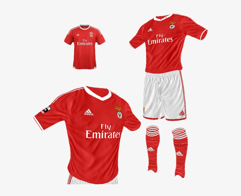 Sl Benfica Home By Kisake Minikit Monaco Away Kit Fifa 14 Png Image Transparent Png Free Download On Seekpng