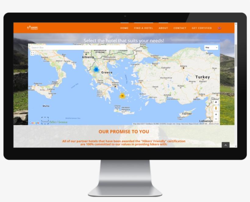 Hikers' Friendly Webmap - Ipcam Central Blue Iris