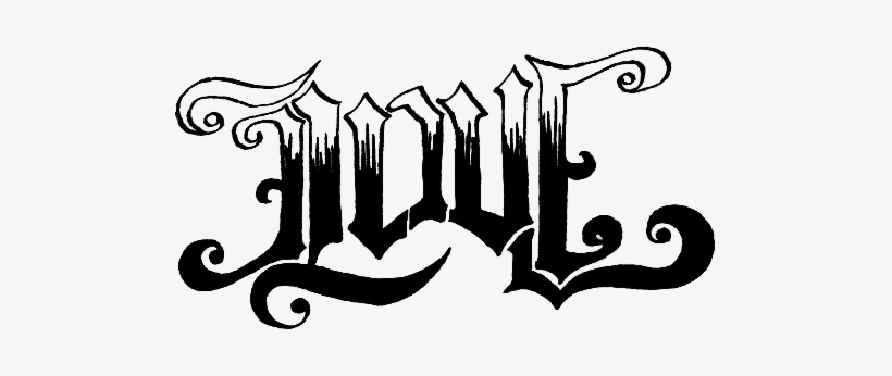 Love Tattoo Png Download Image Love And Hate Ambigram Png Image Transparent Png Free Download On Seekpng