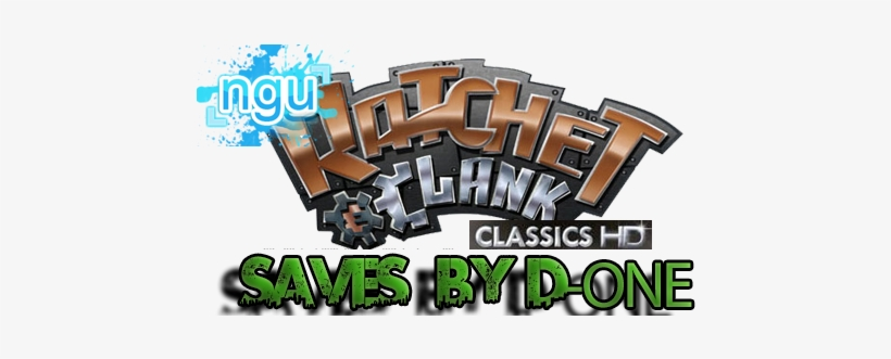 Http I45 Tinypic Com Blxr7 Ratchet E Clank Logo Png Image Transparent Png Free Download On Seekpng