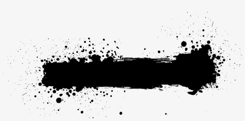 black paint png paint line png clip free library - black paint splash png