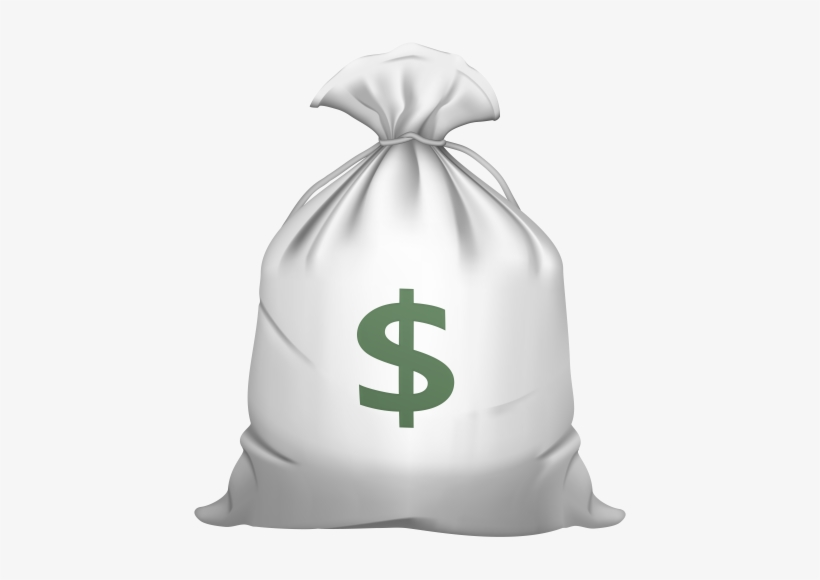 Money Bag Png Clip Art - Coffee Beans Clipart PNG Image
