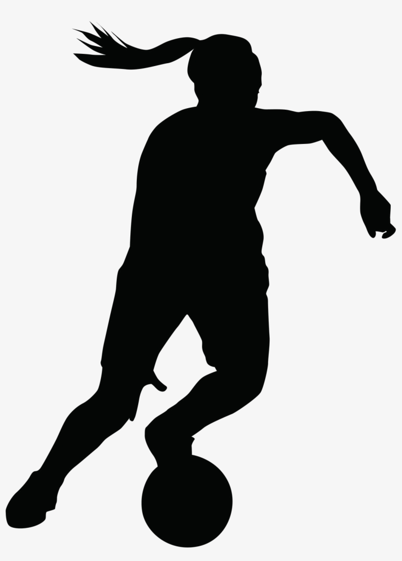 Girls basketball silhouette at getdrawings female basketball silhouette