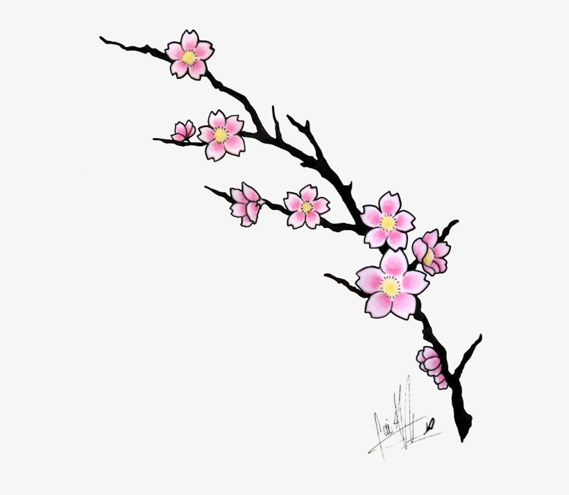 More Like Cherry Blossom Tattoo Design By Caiojhonson Cherry