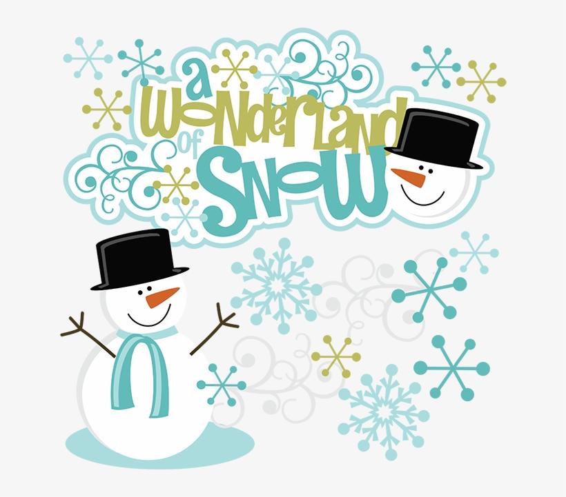 Winter Wonderland Clip Art