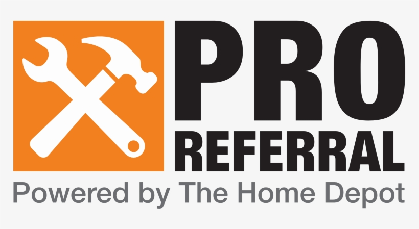The Home Depot Logo Png - Home Depot Pro Referral Logo PNG