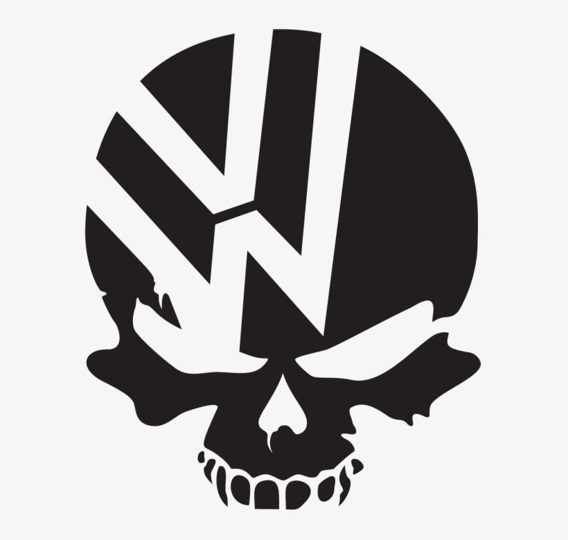 Volkswagen Logo Black Car Sticker Free Vector Png Png Image
