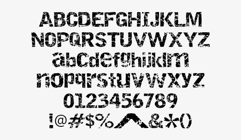 The Weeknd Xo Logo Font Download - Grunge Font Stencil Free