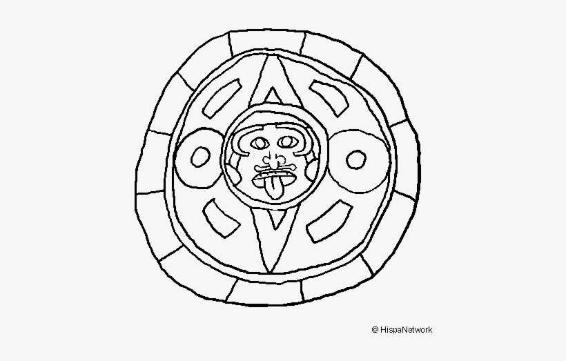 Calendario Dibujo Png.Dibujos Del Calendario Maya Png Image Transparent Png Free