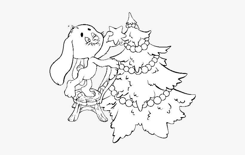 Coloring Pages Of Christmas Trees - Coloring Home | 520x820