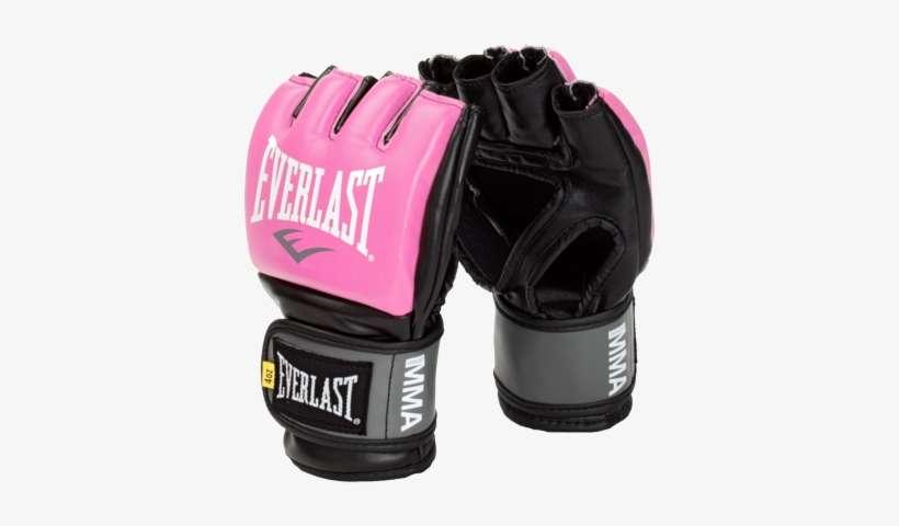 Everlast Pro Style Grappling MMA Gloves S//M Regular - Pink