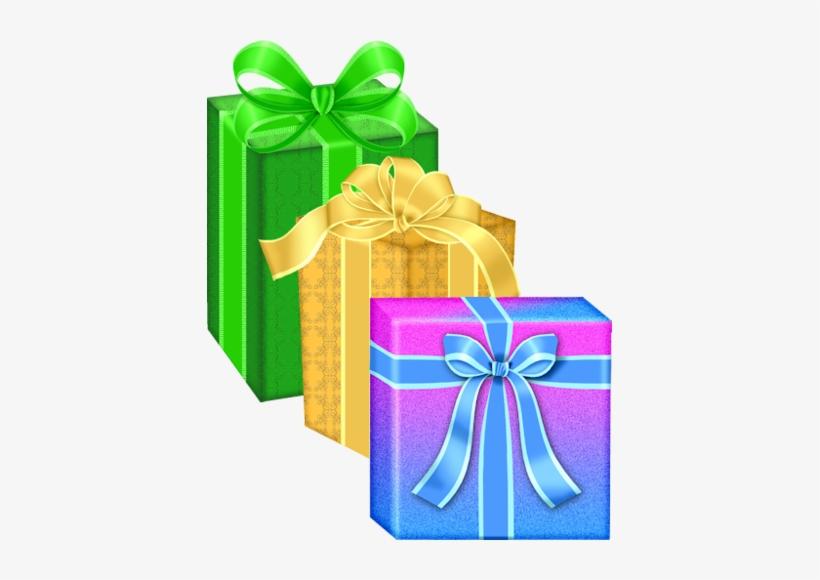 Birthday Present Clipart Yellow Gift
