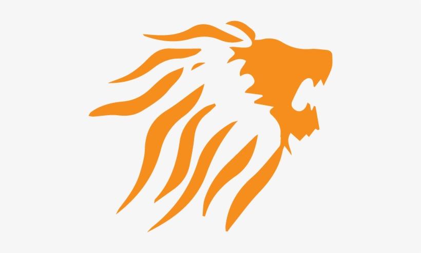 Leao Logo Png Leao Laranja Png Image Transparent Png Free