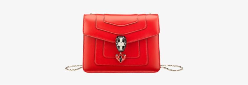 Flap Cover Bag Serpenti Forever In Jasper Flame Calf - Bulgari Bag 2018 f8820a207f503