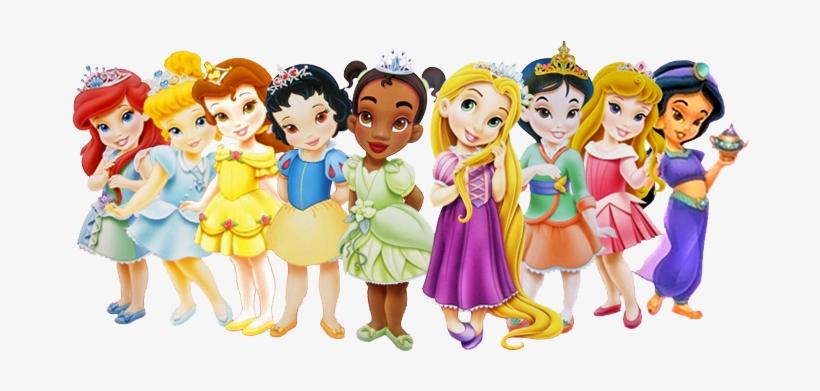 Princesas Disney Bebes - Todas Las Princesas De Disney Bebes@seekpng.com