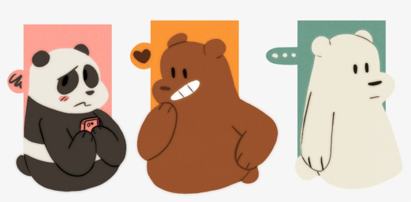 Tumblr Nsuna31z2p1ro2j92o2 500 We Bare Bears Panda Fan Art