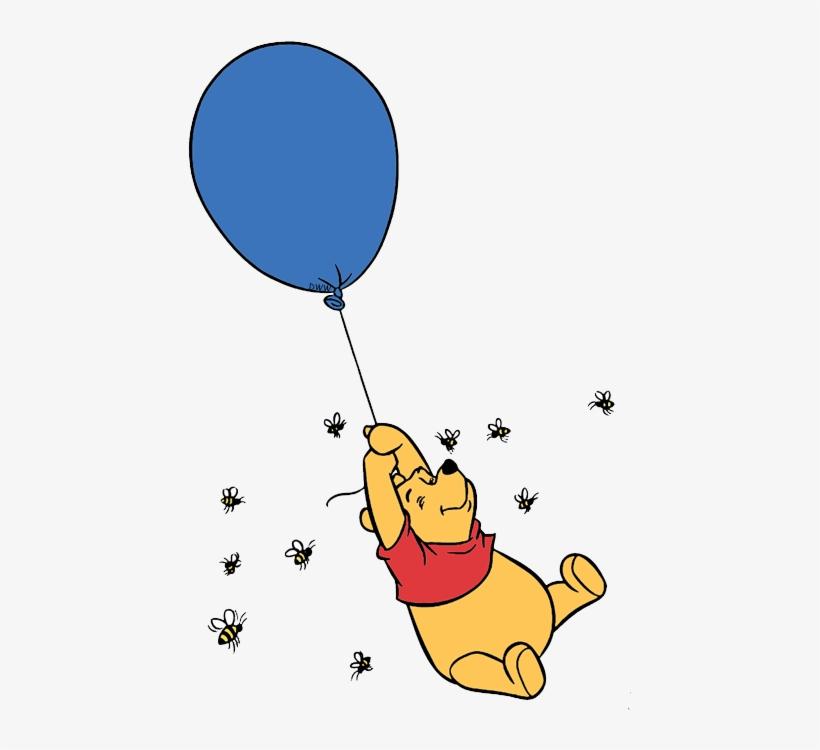 Винни пух картинка с шариком