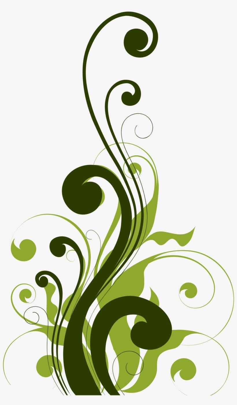 Floral Flourish 3 By @gdj, Pixabay - Background Design For