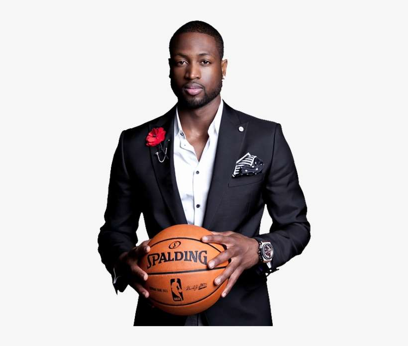 31f54543a9e2 Dwayne Wade - Nba - Miami Heat - Lebron Wade Bosh Style PNG Image ...