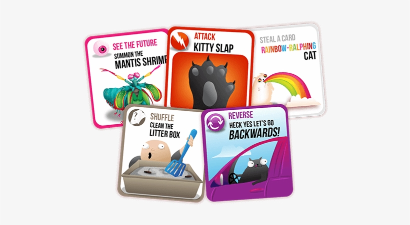 Exploding Kittens App Card Samples Exploding Kittens All Cards Pdf Png Image Transparent Png Free Download On Seekpng