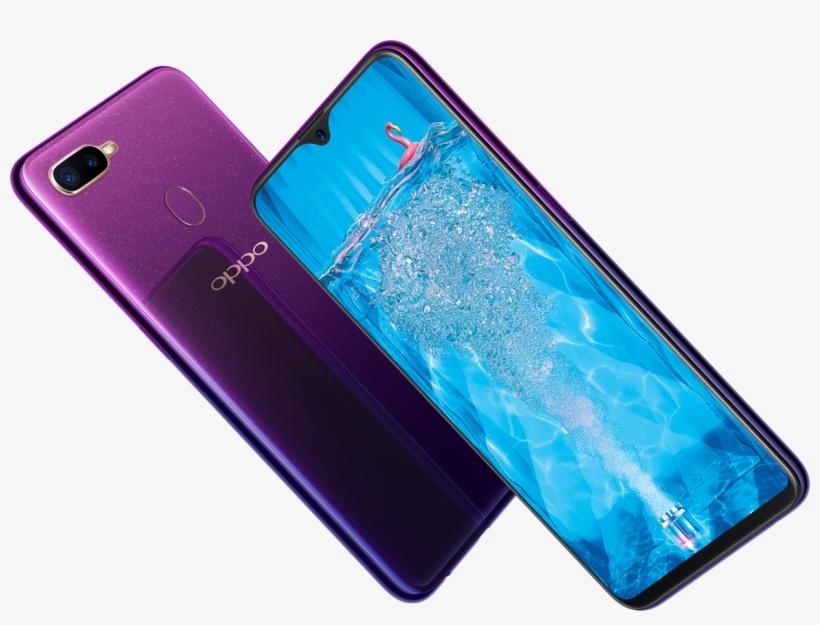 Oppo F9 Starry Purple Ambassador - Oppo F9 Starry Purple PNG