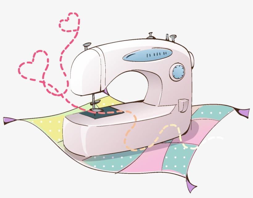 Elementos De Maquina De Costura De Trico Dos Desenhos Maquina De