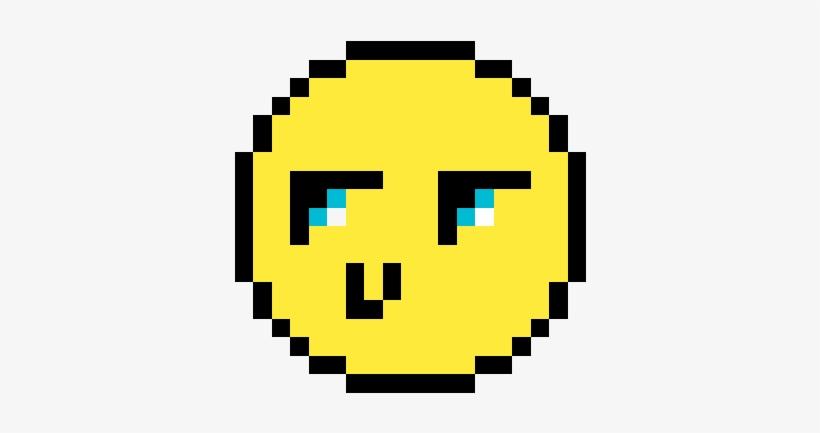 Sad Face Smiley 6089 Source Pixel Art Smiley Png Image