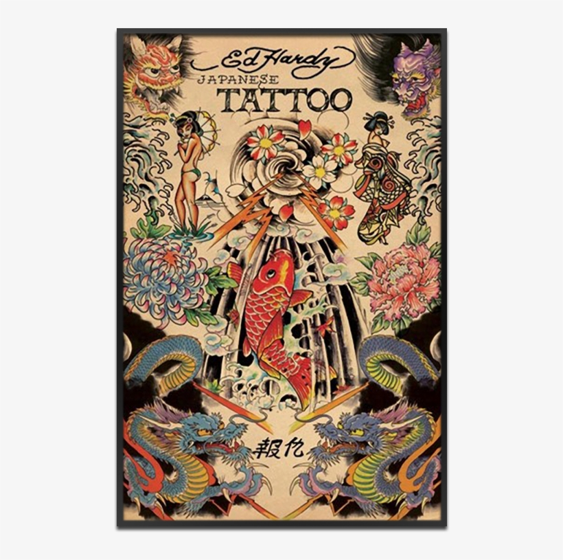 Japanese Tattoo American Traditional Asian Tattoo Png Image