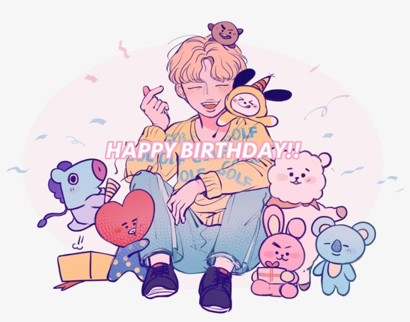 Happy Birthday Bts Fans Bts Drawings Bts Happy Birthday Jimin