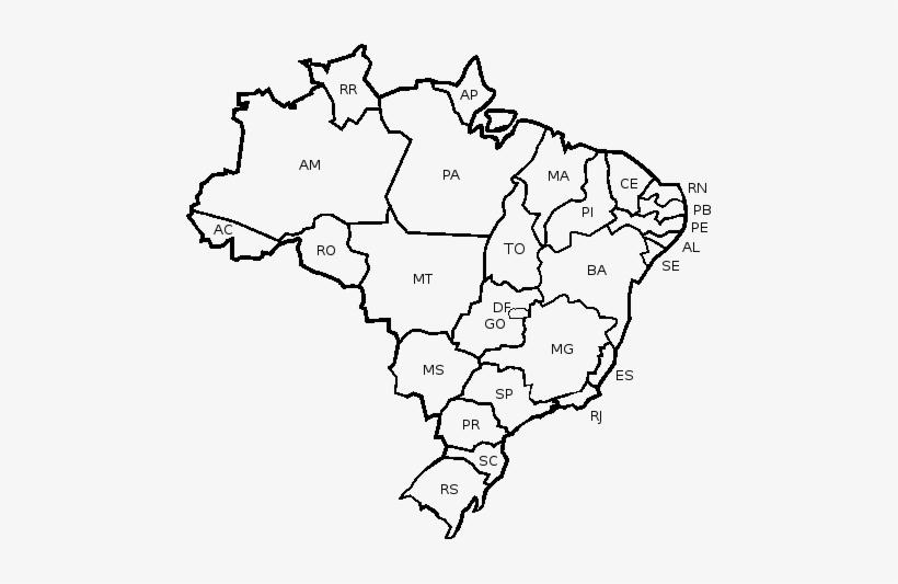 Mapa Do Brasil Mapa Do Brasil Para Desenhar Png Image