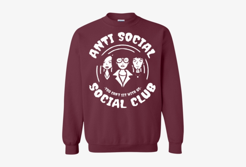da485c1061d0 Anti-social Club Crewneck Sweatshirt - Gambar Anti Social Social Club