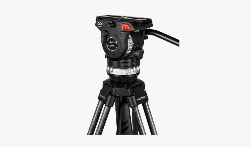 Download And Use Video Camera On Tripod Png Clipart - Sachtler Ace L
