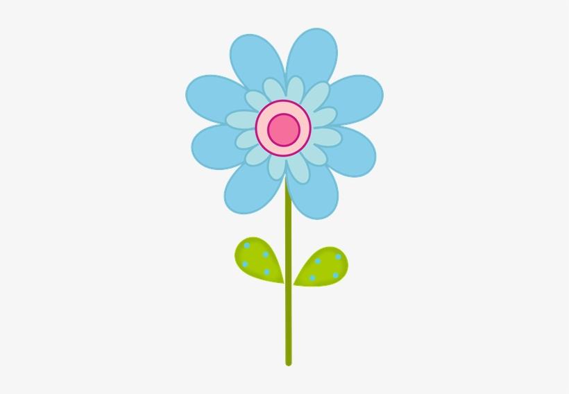 Flores Horizontales Dibujos Animados Patrón De Fondo: Flores Infantiles A Color Png
