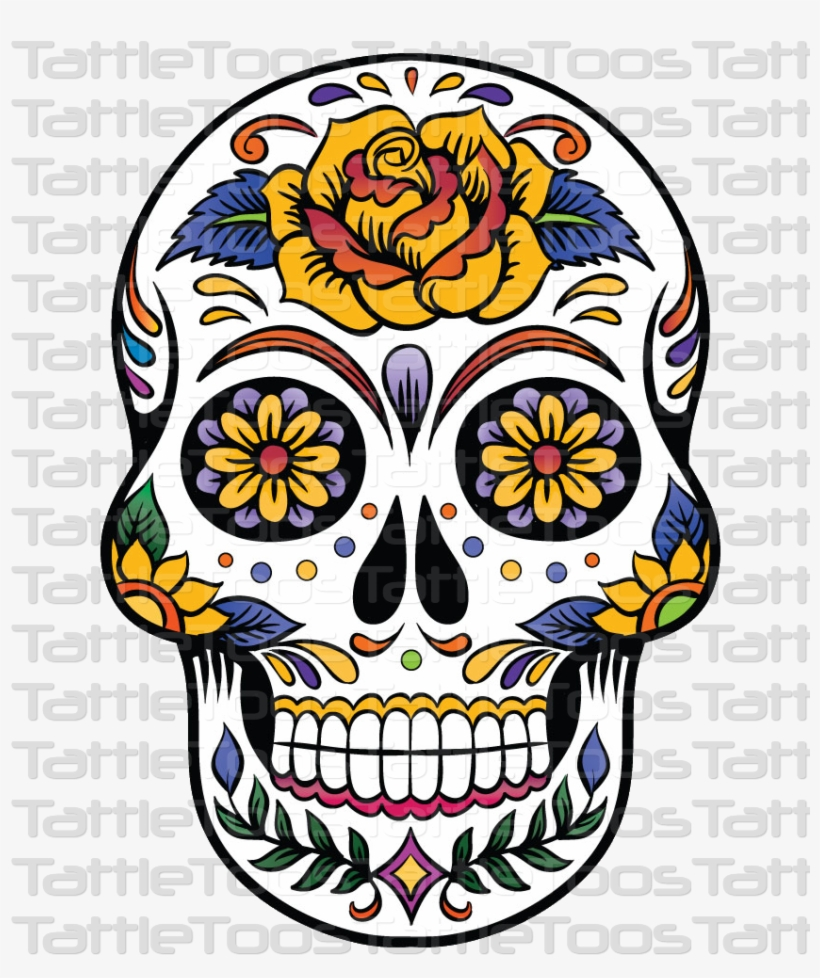 Top Free Clipart Of Sugar Skull Library