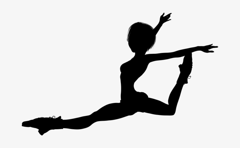 Silhouette Girl Jump Woman Free Pictures Dance Silhouette Png Image Transparent Png Free Download On Seekpng