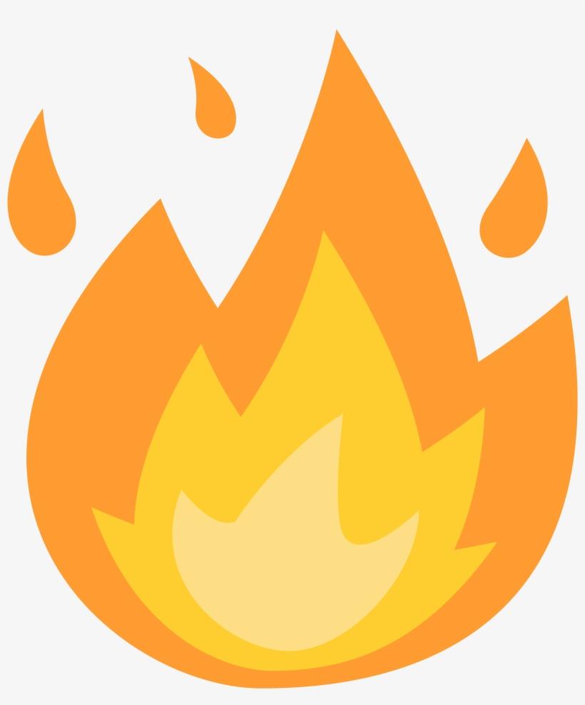 Open - Fire Emoji Png PNG Image | Transparent PNG Free