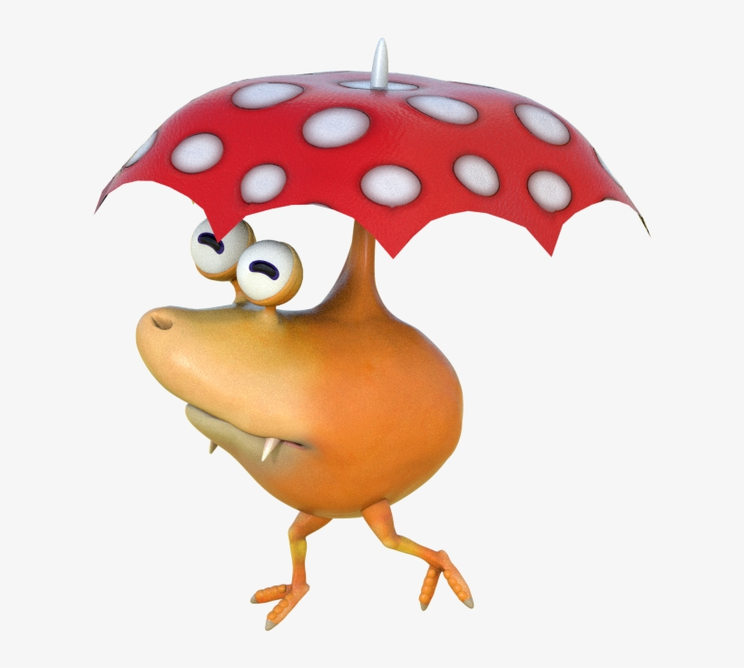 349kib 873x720 Bulbrella Hey Pikmin Unused Enemies Png Image