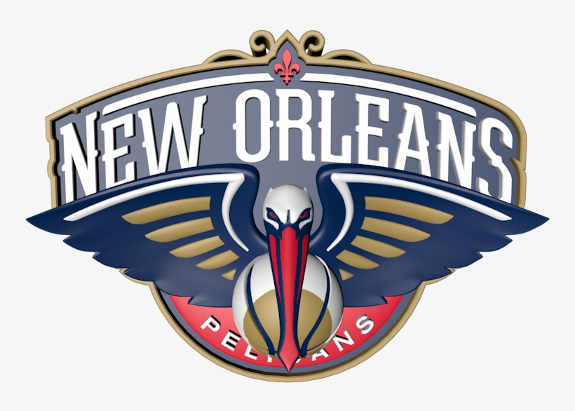 New Orleans Pelicans Logo Png Nba New Orleans Pelicans Die Cut Colored Decal 8 X Png Image Transparent Png Free Download On Seekpng