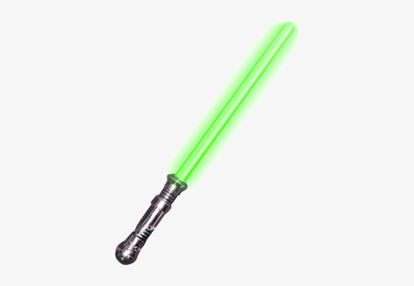 Green Light Up Lightsaber With Sound Effects