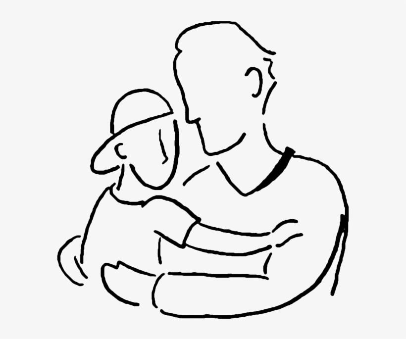 Sohn mit vater und Verwandtschaftsbeziehung