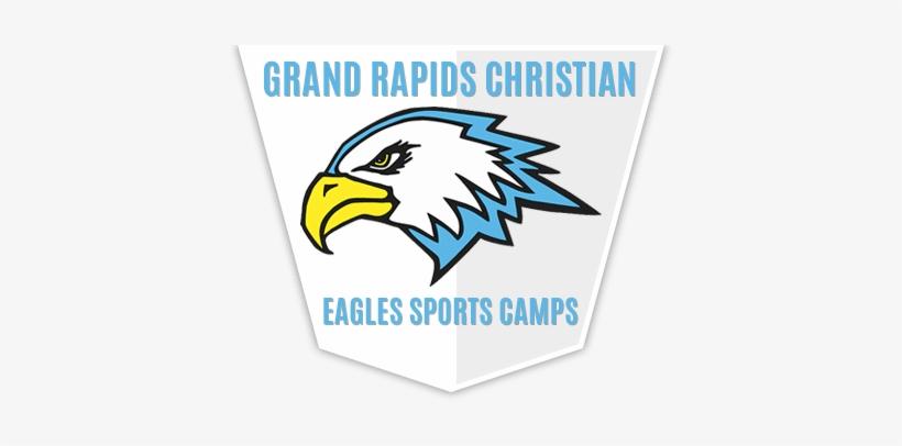 Eagle Head Mascot Sports Team Logo Template Vector - Grand