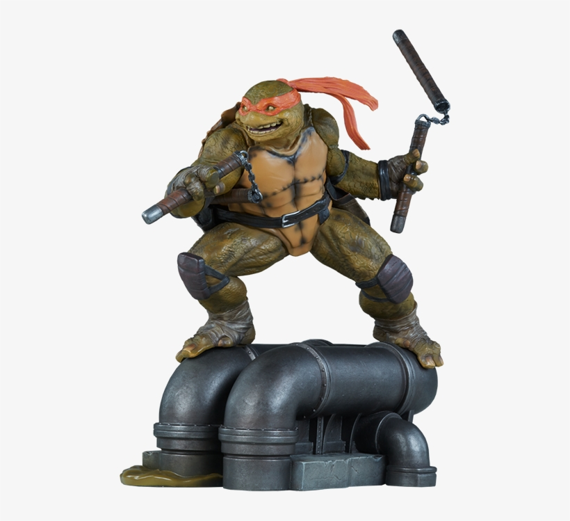 12 Tmnt Statue Michelangelo Teenage Mutant Ninja Turtles