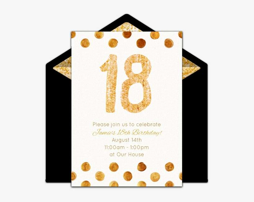 18th Birthday Invitations Free