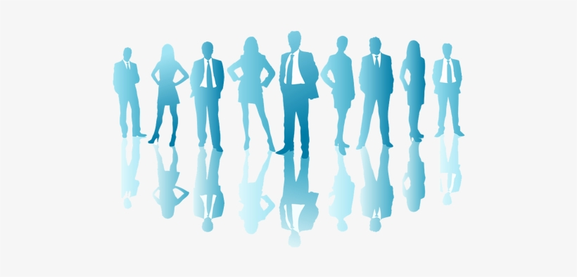 Free Download Business People Blue Silhouette Clipart Business People Blue Silhouette Png Image Transparent Png Free Download On Seekpng