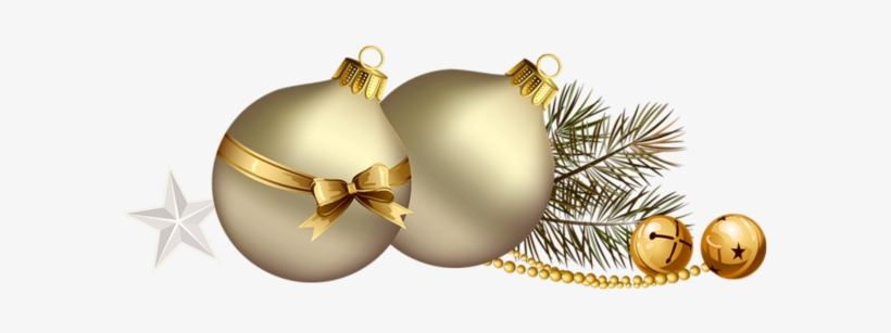 Boule Noel Png Bolas De Navidad Doradas Png Png Image Transparent Png Free Download On Seekpng