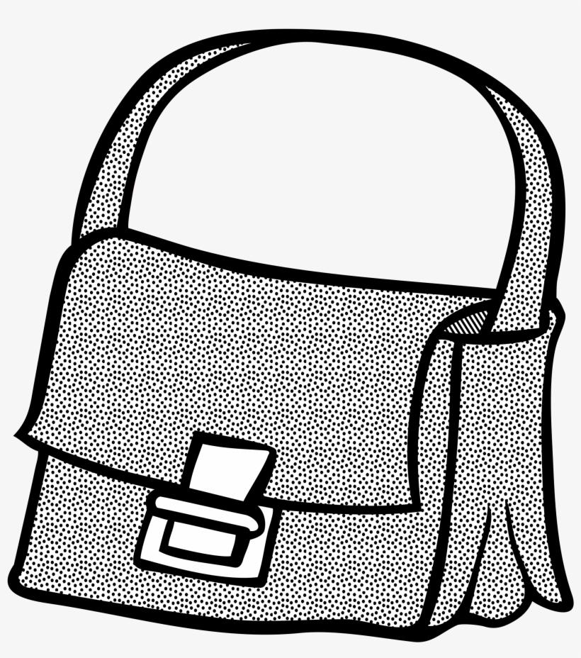 Clip Art Freeuse Bag Vector Line Drawing
