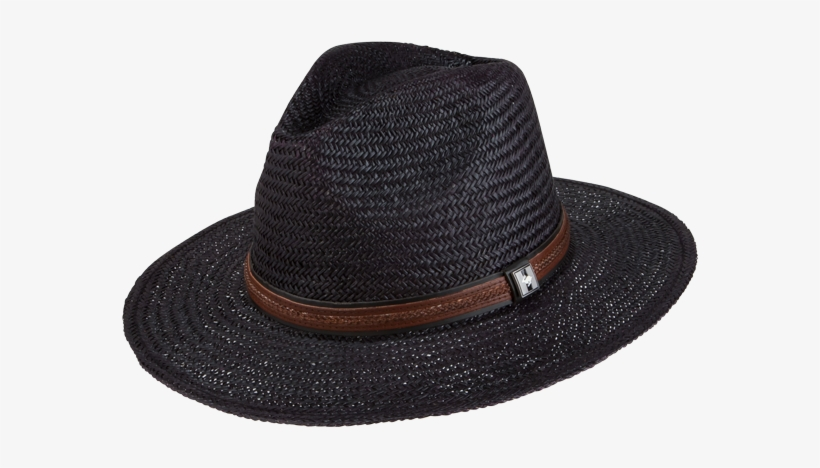 a4732ffc80f69 Peter Grimm Radcliff Straw Hat Black PNG Image