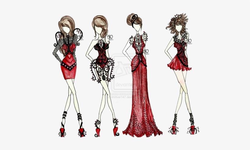 Girl Fashion Drawing Tumblr Png Fashion Design Png Image