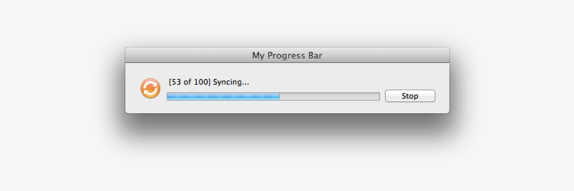 If You Want To Allow Your Progress Bar To Be Stopped, - File